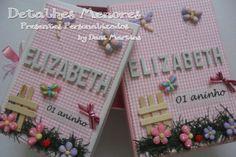 Álbum Fotos e Caixa - JARDIM - Detalhes Menores Presentes Personalizados - 55061