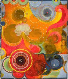 Julie Evans - reminds me of Beatriz Milhazes' work