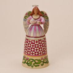 Figura angel GIVING IS IT'S OWN REWARD de Jim Shore. See more at http://www.lacasadelocio.es/
