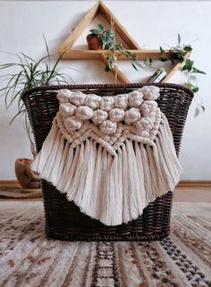 Bicycle Basket, Straw Bag, Macrame, Knots, Photo And Video, Bags, Instagram, Handbags, Bag