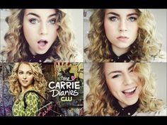 Carrie Bradshaw   The Carrie Diaries Inspired Make-Up & Hair Tutorial   eyecocoabeauty