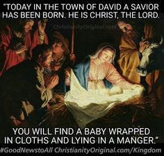 #Christmas#KingTo us a child is born and the government will be on his shoulders. Isa9:6. For the hour is coming, when all the dead shall hear the Son's voice and rise; the good to life; the evil to a 'krisis'. Jn5:28-29. He'll rule them with an iron rod. Rev12:5. When thy judgments come on Earth, its inhabitants will learn righteousness. Isa26:9,Acts3:21.