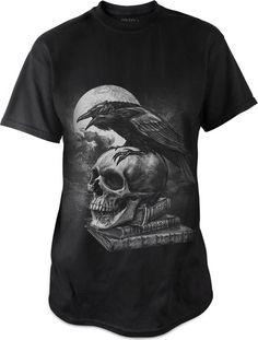Poe's Raven t-shirt by Alchemy Gothic