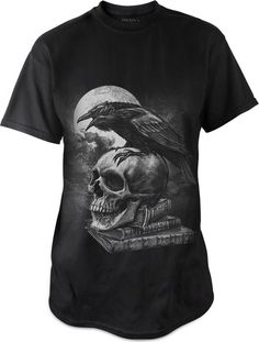 Poe's Raven t-shirt by Alchemy Gothic