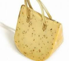 Those are definitely strange looking handbags  cheese purse aa2df138254b0