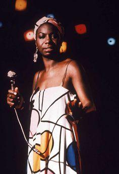 Nina Simone, grande musa do Jazz. | Saiba mais sobre o gênero e seus artistas em cantodosclassicos.com