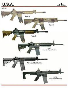 Colt AR platforms