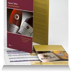 Avery Dennison SA  Fasson wine labeling materials brochure and specifications sheet.