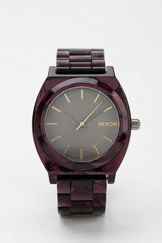 Nixon The Time Teller Acetate Watch