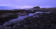 https://flic.kr/p/7FGY9c | 011009PICT00011-01 | Bamburgh castle at dawn.