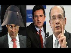 Min.Gilmar Mendes (STF) ELOGIA Juíz SÉRGIO Moro e ARRASA LINDBERG farias!