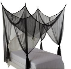 The Heavenly post bed canopy from Amazon