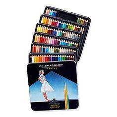 Prismacolor Premier Soft Core Colored Pencils, 150-Pack