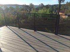 Glass Balustrade, Spanish House, Deck, Outdoor Decor, Home Decor, Front Porch, Decks, Interior Design, Home Interior Design