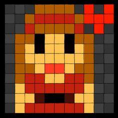 Pixelated Self Portrait by ~revenantpunk on deviantART