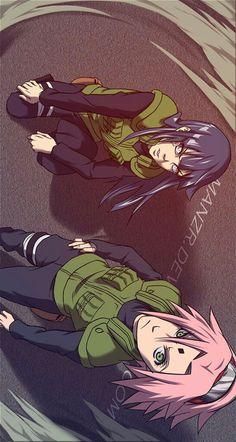Sakura and Hinata | Naruto Shippuden