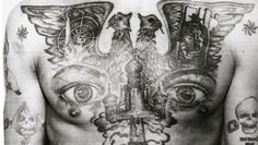 Back in the Soviet era, prison tattoos among criminals had a language all their own. A criminal's body served as a hard-earned record of his crimes, status — and maybe even some questionable bets.