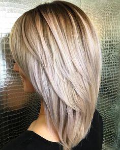 Coiffures : 70 Modèles de Coupes cheveux mi-longs tendances 2019 à oser en urgence !