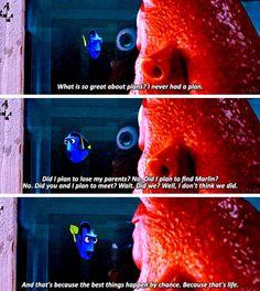 Finding Dory << I love dory. Disney Pixar, Disney Finding Dory, Disney Animation, Disney And Dreamworks, Disney Love, Disney Magic, Walt Disney, Finding Dory Memes, Dory Quotes