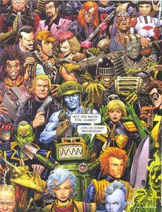Comics: Prog 1800 art - Forbidden Planet Blog