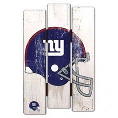 New York Giants Wood Fence Sign 11