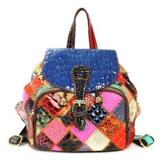 Genuine Leather Women Backpack New Fashion Small String Bucket Mochila Bolsas Feminina Casual String Hasp Cover Bag Girls Gifts