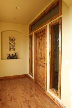 Stained Knotty Alder Doors Amp Trim So Rustic My Country