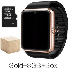 Awsome Android Smart Watch GT08 Clock With Sim Card Slot Push Message Bluetooth Connectivity Phone Better Than DZ09 Smartwatch