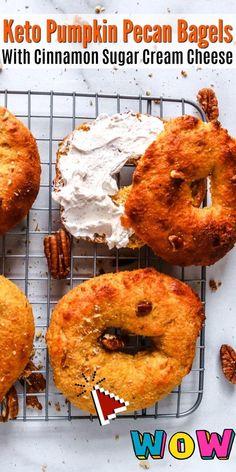 Diabetic Breakfast Recipes, Breakfast Smoothie Recipes, Healthy Low Carb Recipes, Low Carb Breakfast, Healthy Dessert Recipes, Keto Recipes, Fall Breakfast, Keto Desserts, Bread Recipes