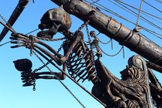 The Black Pearl from 'Pirates of the Caribbean' Docked in Hawaii