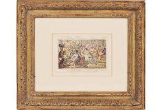 Framed Print, Picnic Society on OneKingsLane.com
