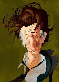 #Caricature: Sean Penn - http://dunway.com/