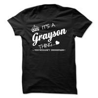 Its A Grayson Thing