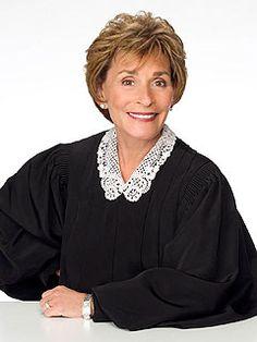 Judge Judy ~ I Love Watching Her