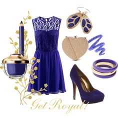 """""""Get Royal!"""" by lapetiteamelie on Polyvore"""