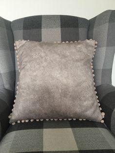 Excited to share the latest addition to my shop: Faux suede cushion cover