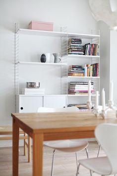 String hylly Modern Spaces, All Modern, String System, Office Desk, Shelves, Workspaces, Interior, Furniture, Decoration