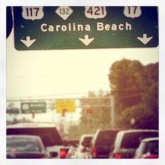 Almost at Carolina Beach