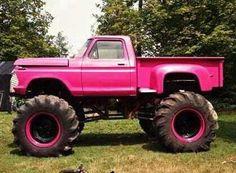 BIG lifted trucks!