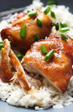 Sicky Bourbon Chicken (gf soy)