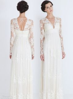 catherine deane wedding dresses 2012 lia long sleeve lace bridal gown
