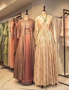 Beautiful Gowns with modern silhouettes. Pakistani Sharara, Anarkali, Western Gown, Western Dresses, Bridal Chura, Long Kurtis, Plain Dress, Modest Wear, Bridesmaid Dresses