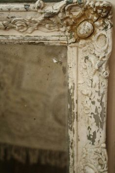 for inspiration, I have so many of these frames and this patina is beautiful