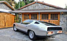 The 1967 Jaguar Piranha - Gandini designed for Carrozzeria Bertone