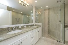 Full Master Bathroom Remodel - Luxurious Master Bathroom Retreat in Naples FL http://www.reeddesignbuild.com/remodeling-services-in-naples-florida/