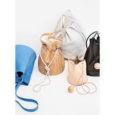 Bucket bags from @objectswithoutmeaning @creaturesofcomfort @buildingblock & @coldpicnic