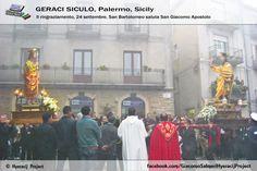 #GeraciSiculo. . . . , non è solo Geraci!!!! è . . . . da . . . .VIVERE!!! Il ringraziamento 24 Settembre 2013, San Bartolomeo saluta San Giacomo!!!   Il portale ufficiale del progetto 👉 www.hyeracijproject.it