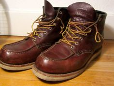 I love red wing boots... for caring tips for leather boots .. check this out... www.thepacificinternational.com