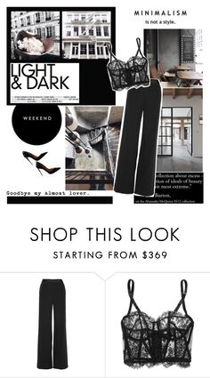 """""""Untitled #1606"""" by natza ❤ liked on Polyvore featuring Alexander McQueen, Erdem, I.D. SARRIERI and Christian Louboutin"""