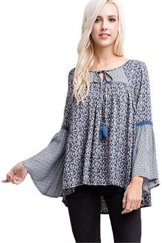 Patchouli Peasant Top